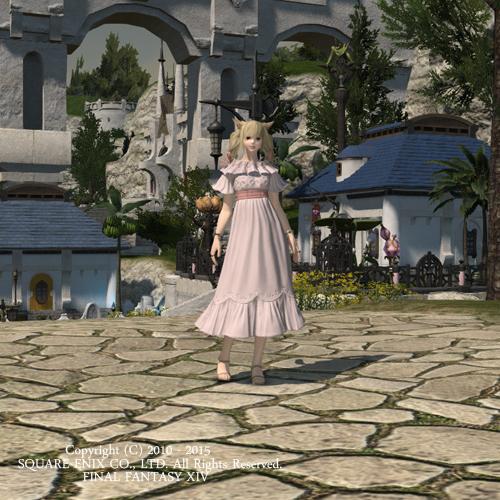 【FF14】エタバン用ドレス装備!ミラプリ!