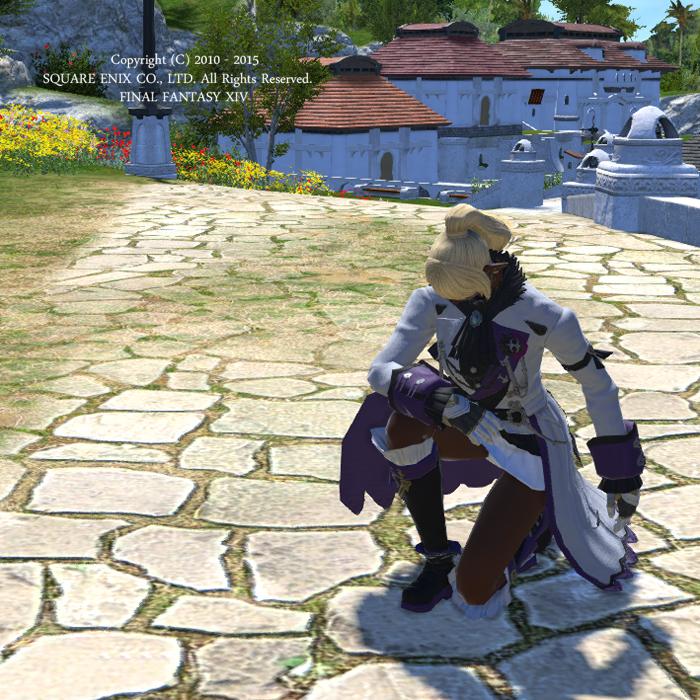 主人に仕える騎士