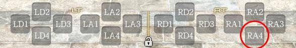 クロスホットバー記号有りRA4
