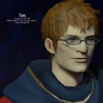 エオルゼア眼鏡男子