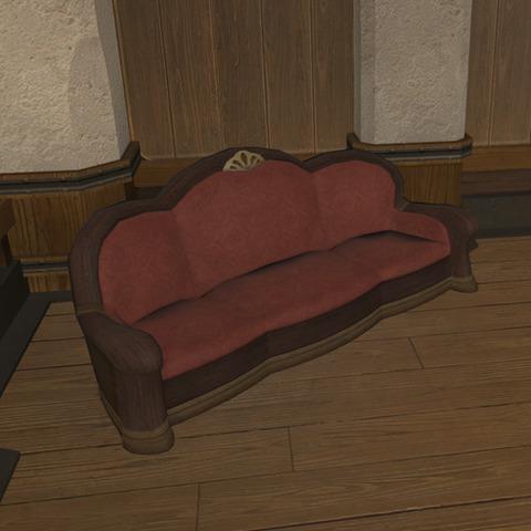 御用邸の長椅子4