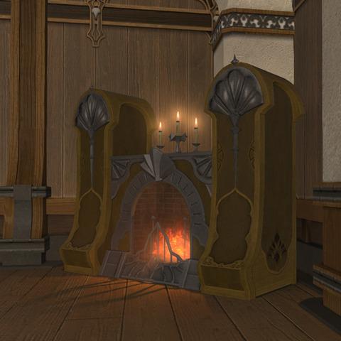 御用邸の豪著な暖炉2