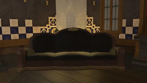 御用邸のソファー