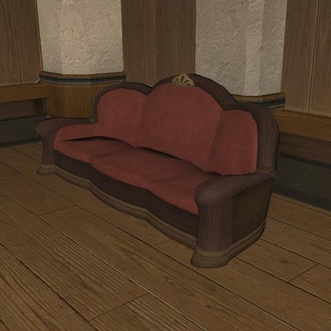 御用邸の長椅子3