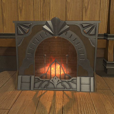 御用邸の暖炉