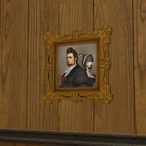 事件屋と助手の肖像画