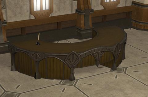 御用邸の書斎机2
