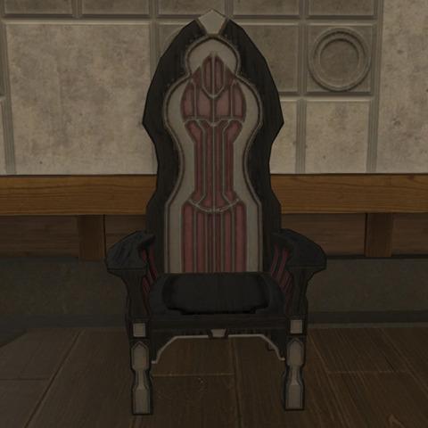 対竜要塞の指揮椅子