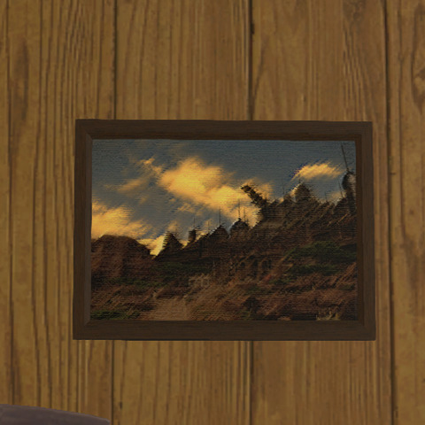 砂都の風景画