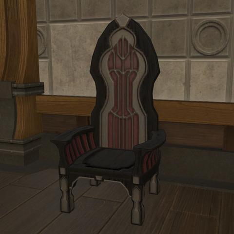 対竜要塞の指揮椅子2